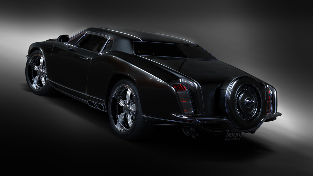 concept muscle car back