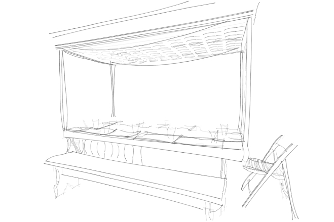 Robin Colton Interior Design Studio Austin Texas DIFFA Sketch