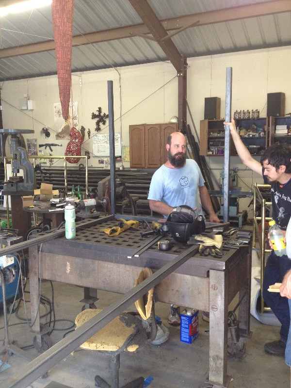 Robin Colton Interior Design Studio Austin Texas Metal Crew