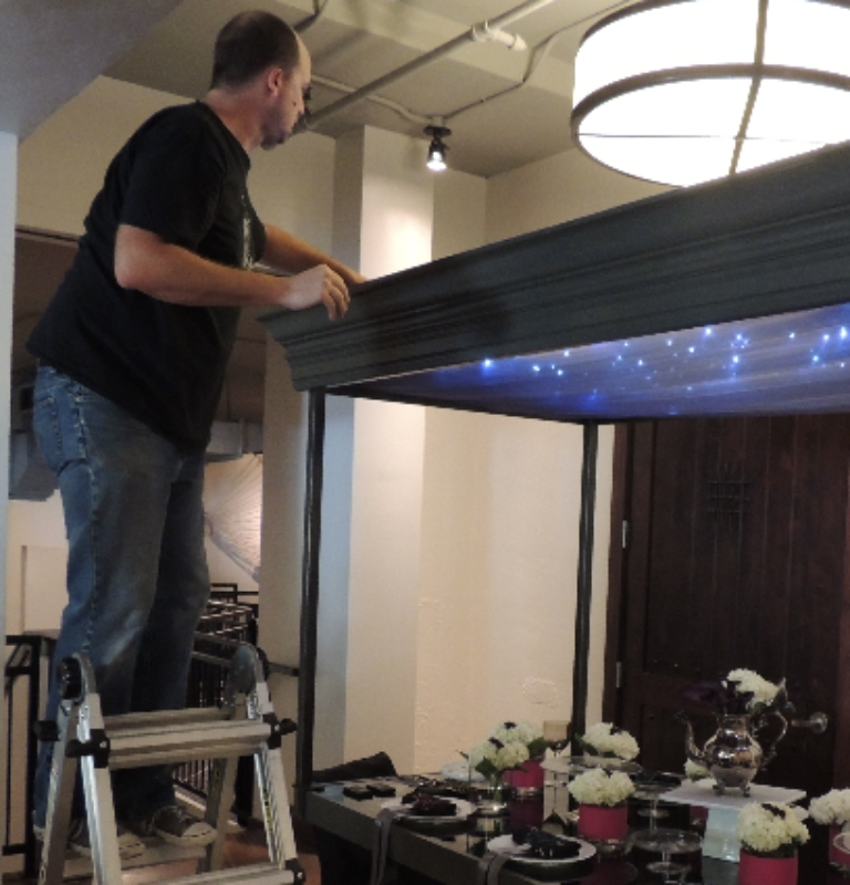 Robin Colton Interior Design Studio Austin Texas Turning on the lights