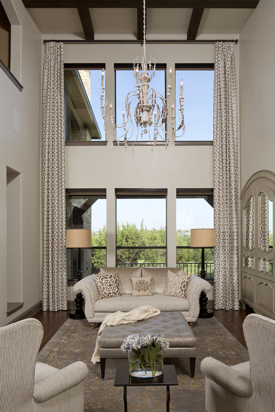 Robin Colton Interior Design Studio Austin Texas Steiner Ranch Draperies