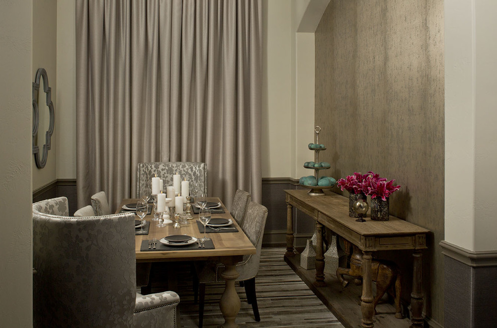 Robin Colton Interior Design Studio Austin Texas Steiner Ranch Formal Dining Room