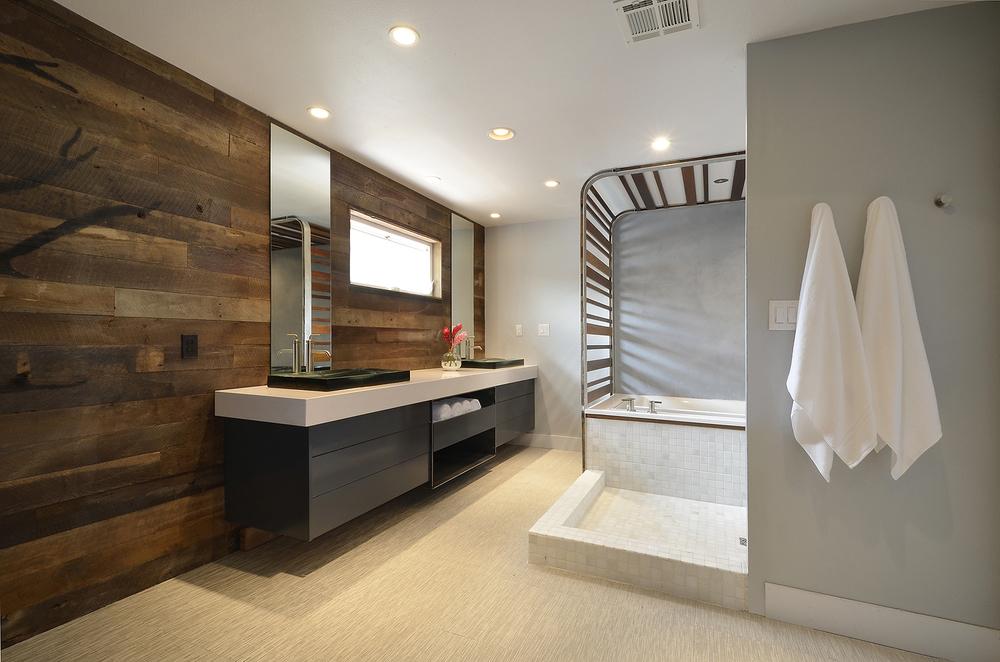 Robin Colton Interior Design Studio Austin Texas Lakeway Vanity Tub