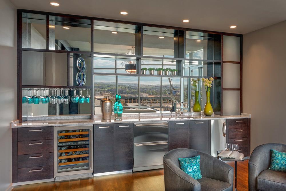 Robin Colton Interior Design Studio Austin Texas Austonian Bar