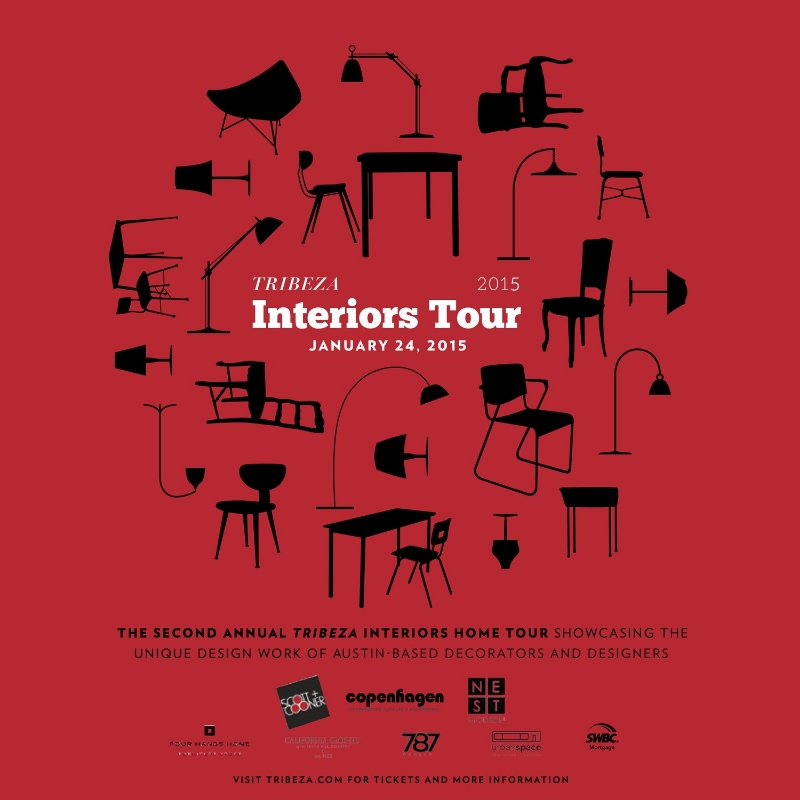 Tribeza Interiors Tour | Robin Colton Interior Design Studio Austin Texas Blog | www.robincolton.com