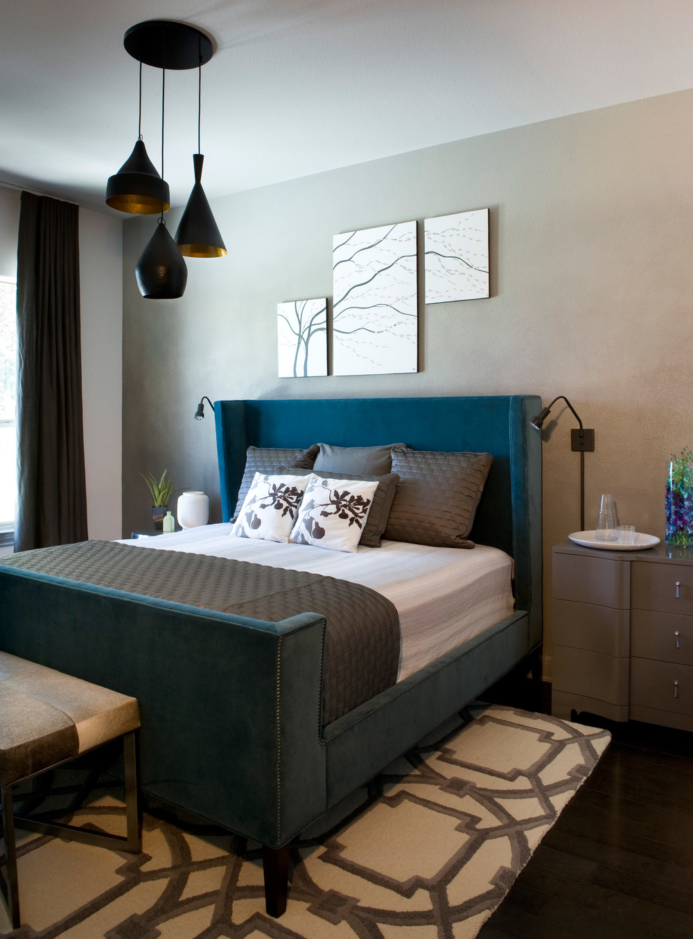Robin Colton Interior Design Studio Brodie Springs Guest Bedroom