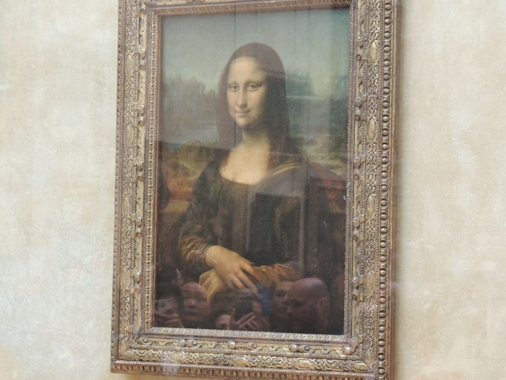 My photo of the Mona Lisa