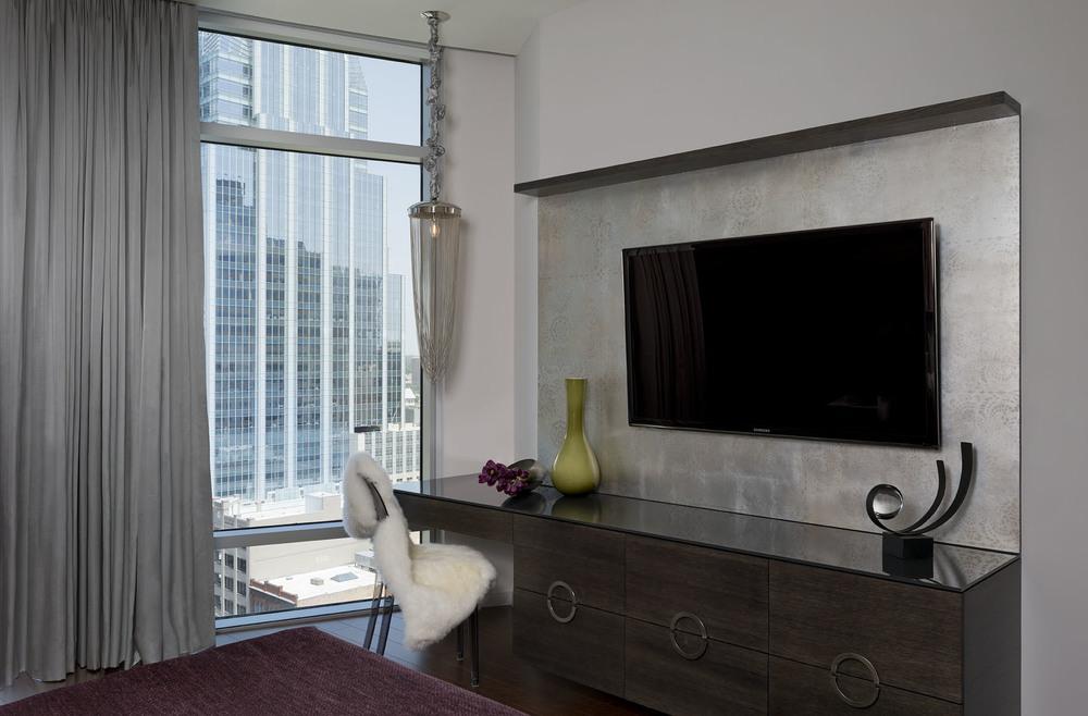 Austonian Master Bedroom Vanity : Robin Colton Interior Design Studio : Austin, TX