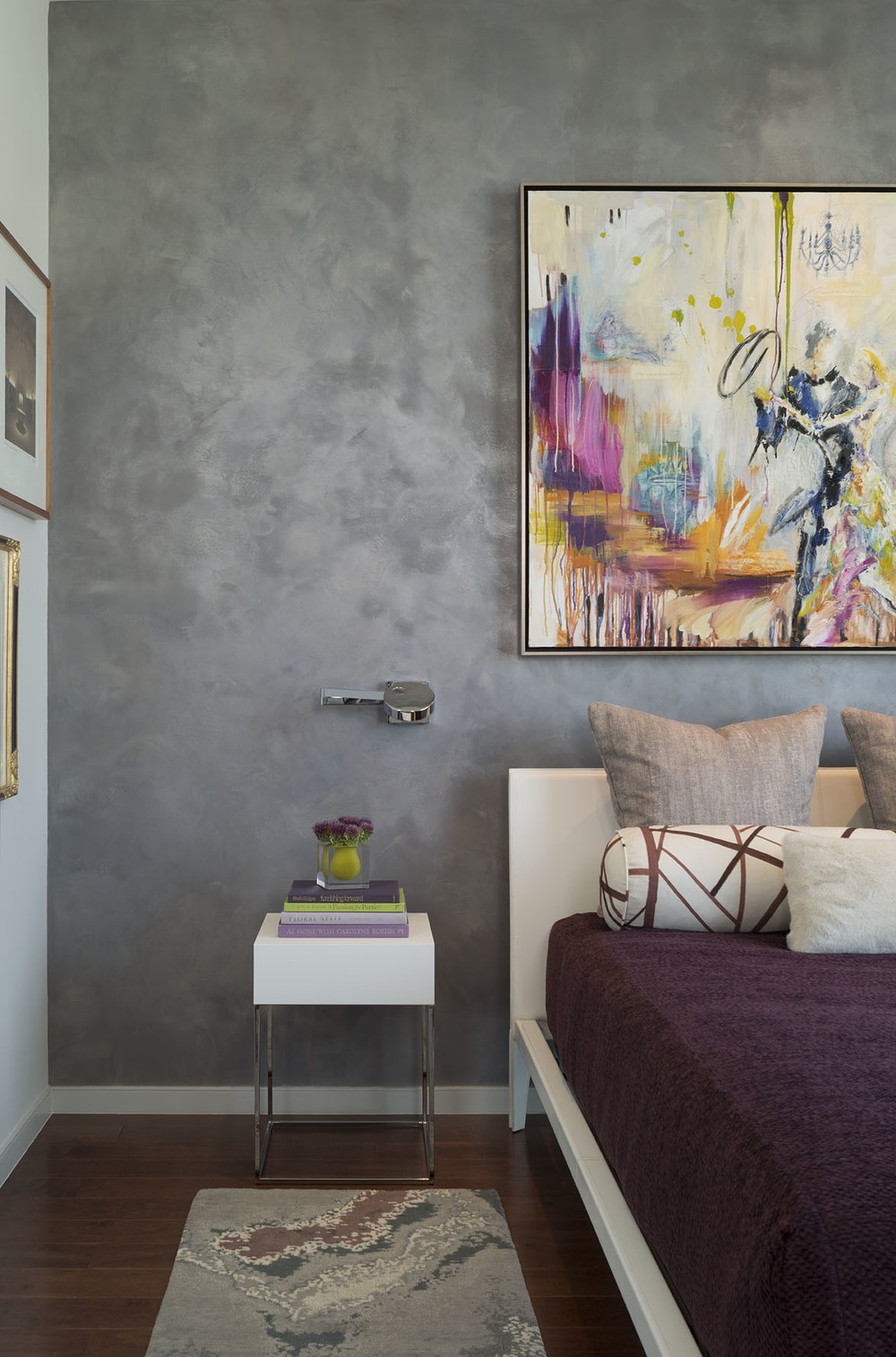 Austonian Master Bedroom : Robin Colton Interior Design Studio : Austin, TX