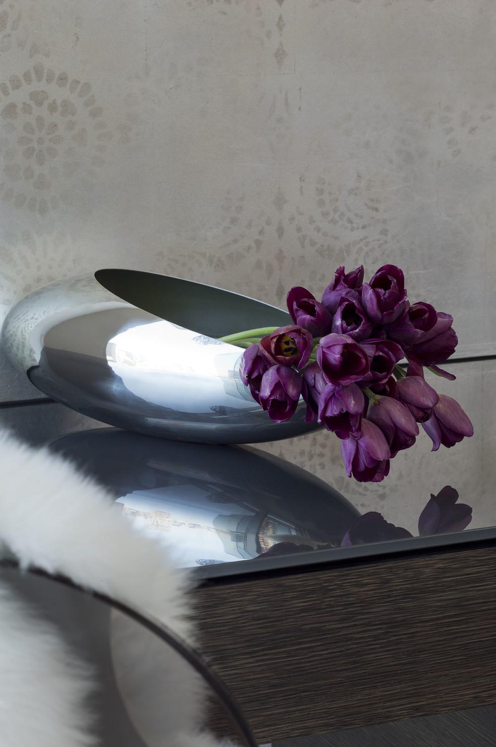 Austonian Vanity Detail : Robin Colton Interior Design Studio : Austin, TX