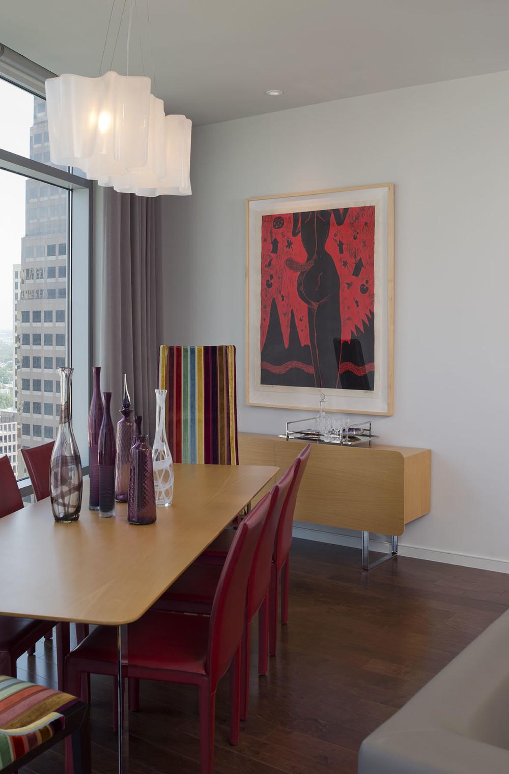 Austonian Dining Room : Robin Colton Interior Design Studio : Austin, TX