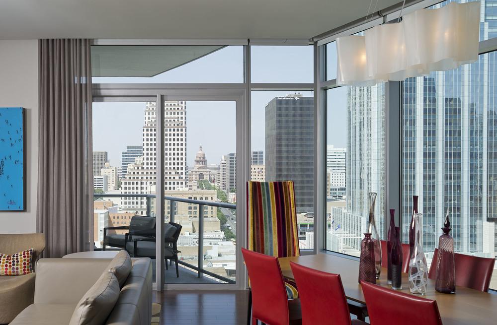 Austonian Skyline : Robin Colton Interior Design Studio : Austin, TX