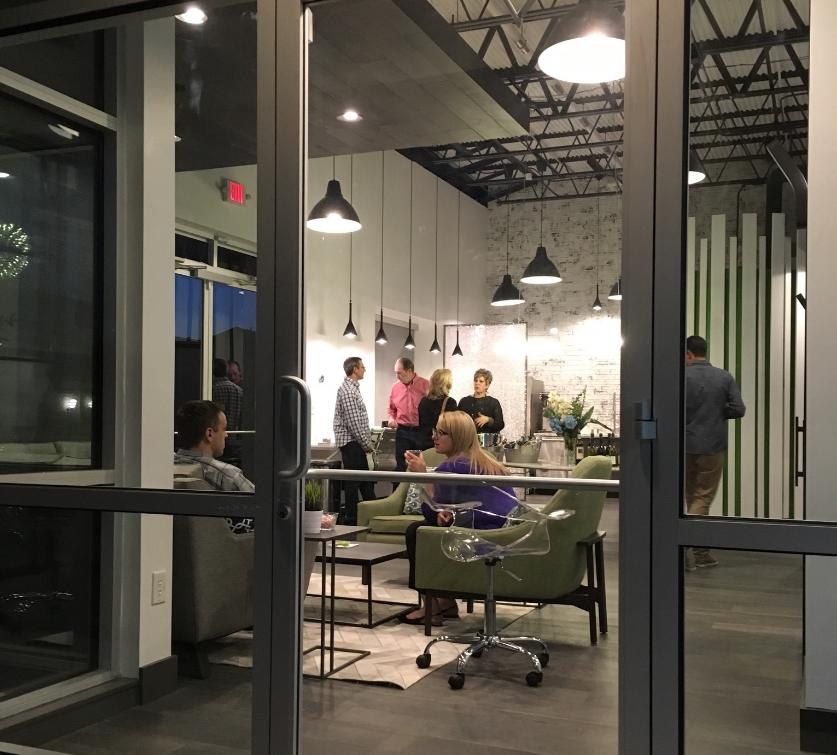 Gravity Workspace Social Space Robin Colton Interior Design Studio Austin Texas