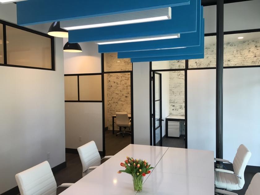 Gravity Workspace Open Space Design by Robin Colton Interior Design Studio Austin Texas