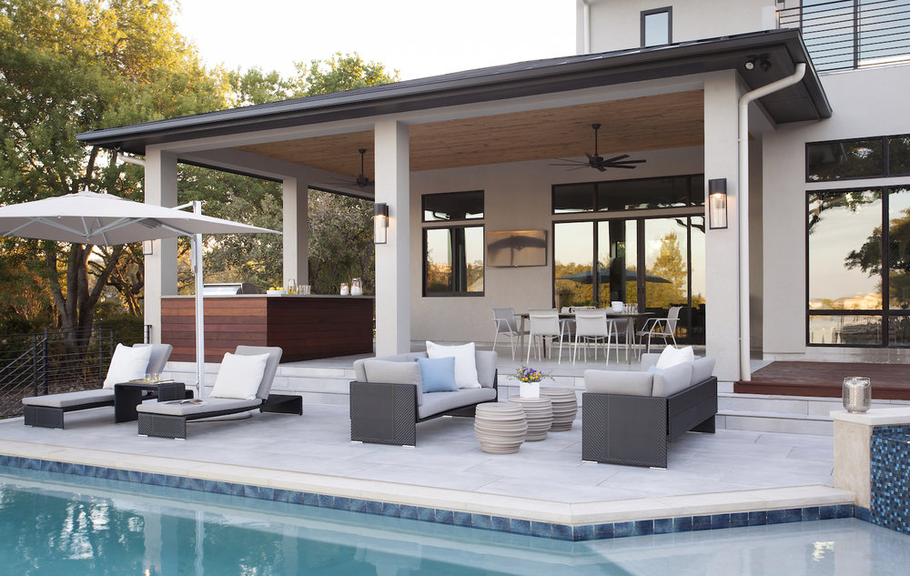 Horseshoe Bay Poolside Outdoor Furniture