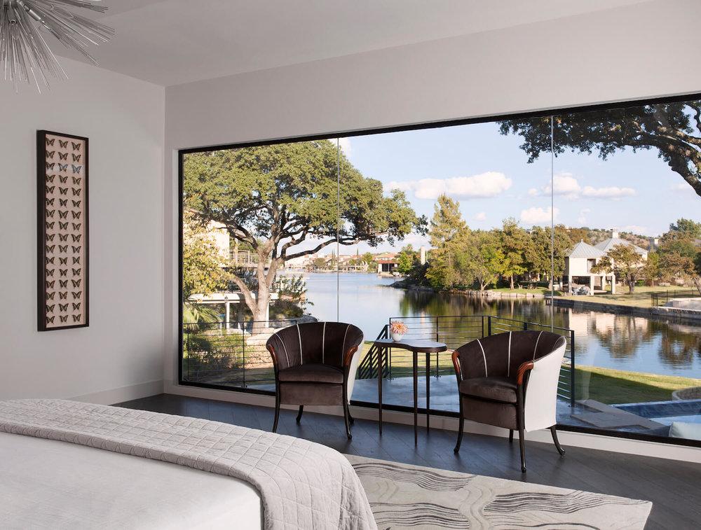 Horseshoe Bay Master Bedroom | Robin Colton Interior Design Studio Austin Texas | .robincolton & Robin Colton Interior Design Studio - Austin TX