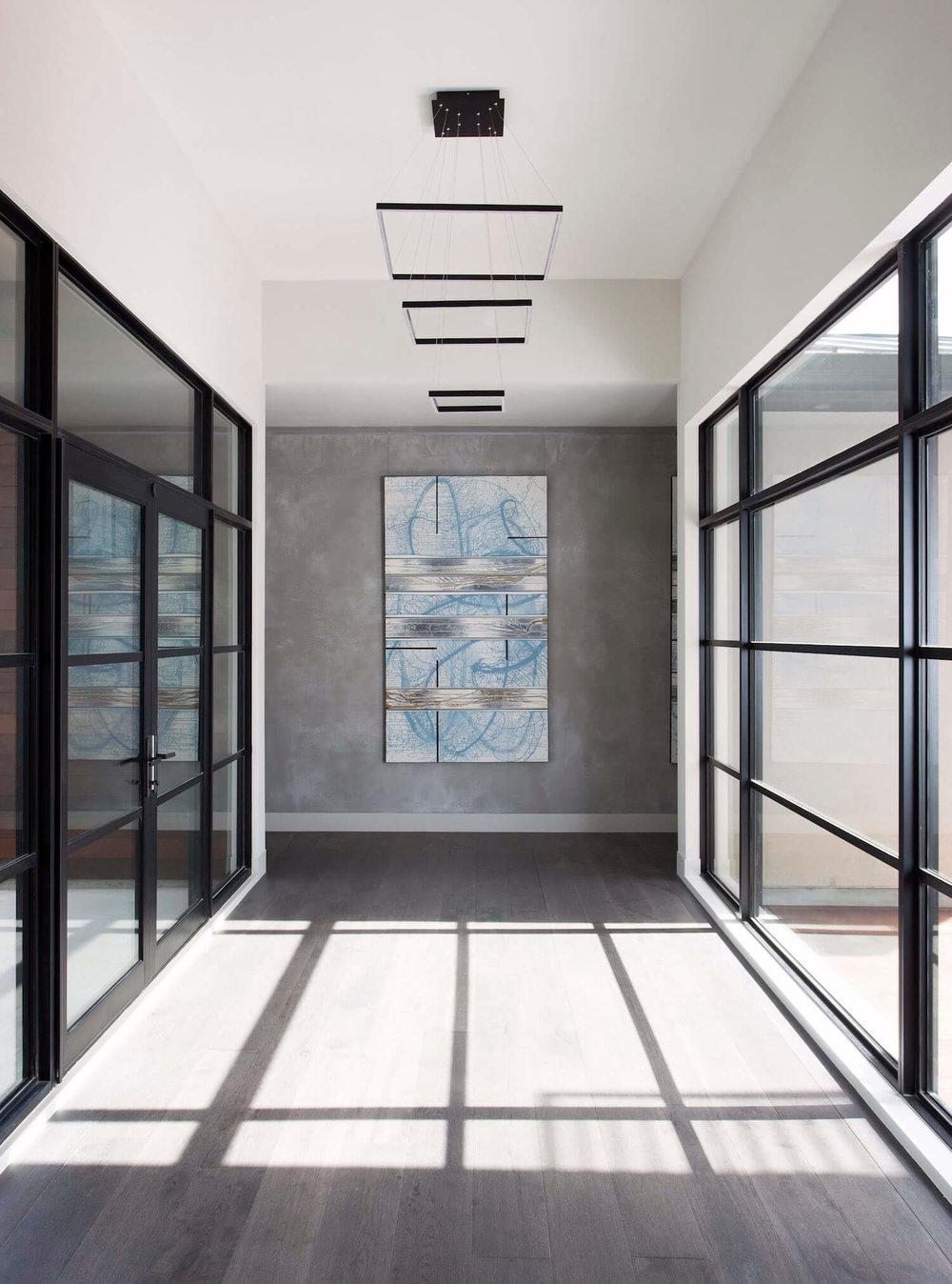 Horseshoe Bay Entry | Robin Colton Interior Design Studio Austin Texas | www.robincolton.com