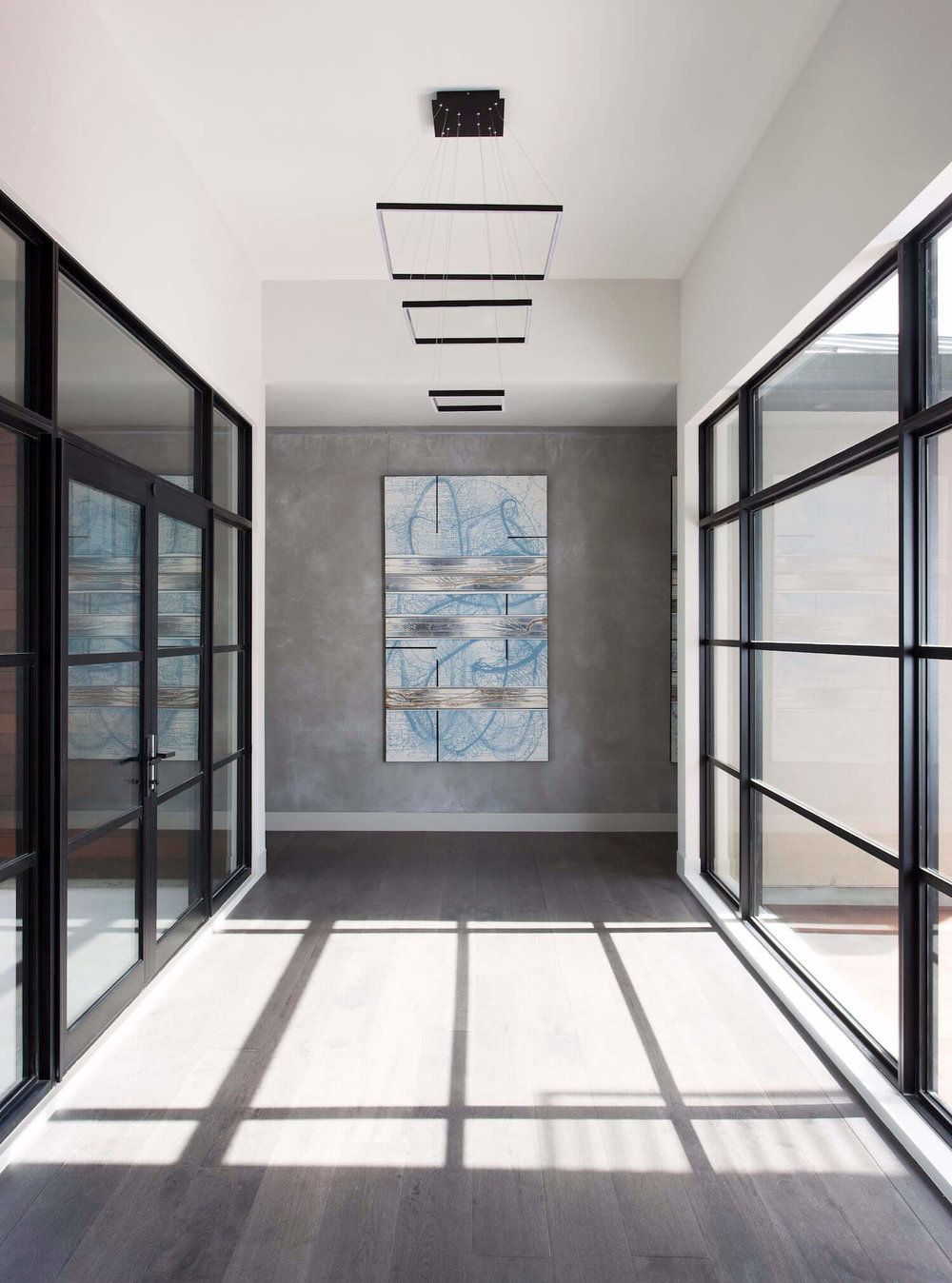 Robin Colton Interior Design Studio Horseshoe Bay Foyer