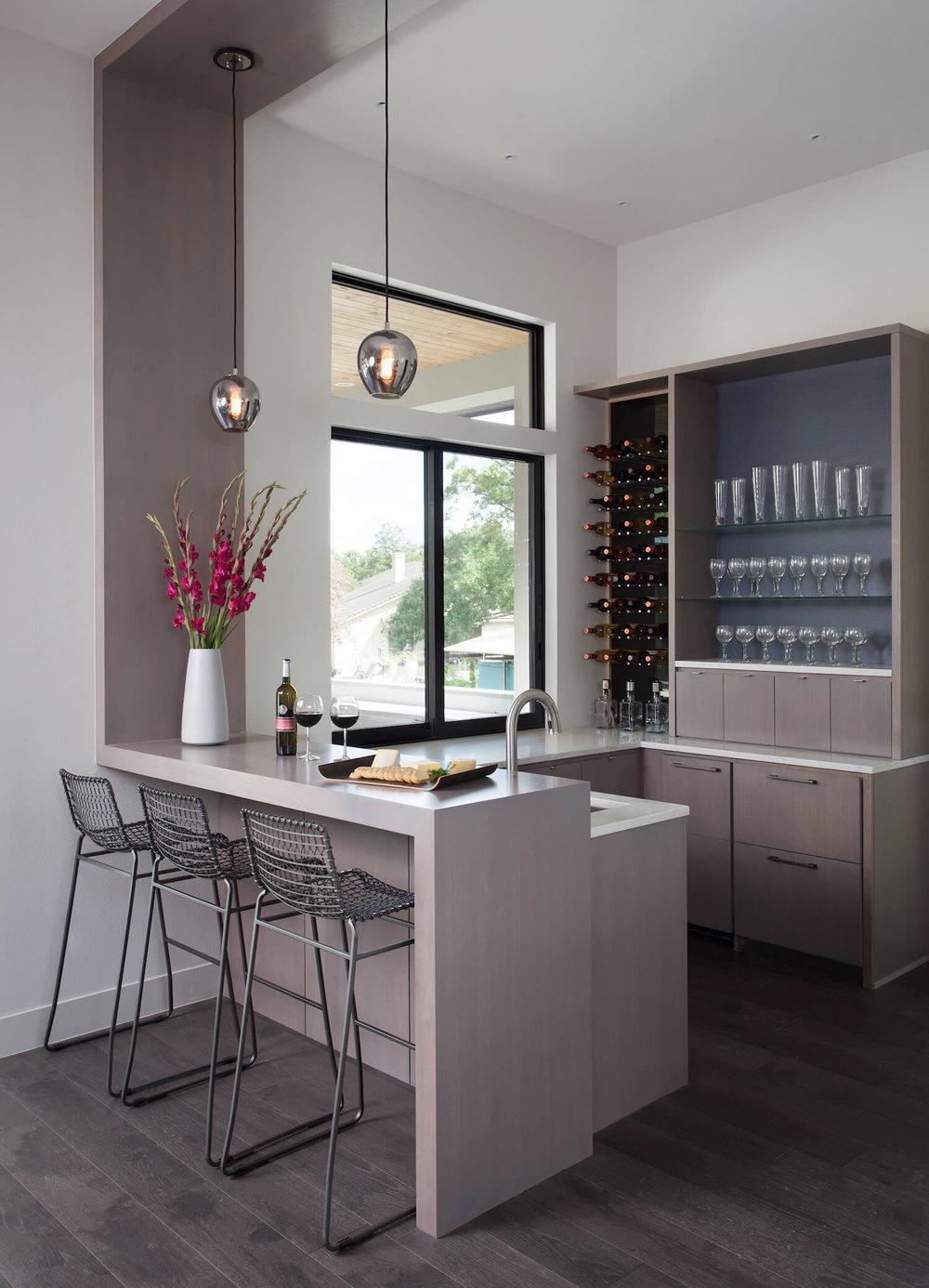 Robin Colton Interior Design Studio Horseshoe Bay Bar