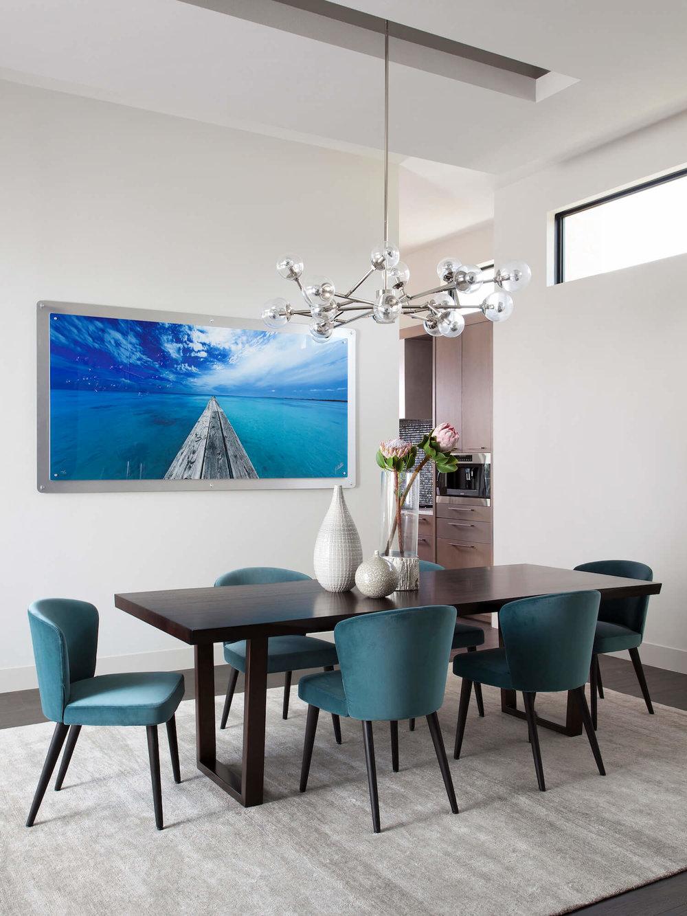 Horseshoe Bay Dining Room | Robin Colton Interior Design Studio Austin Texas | www.robincolton.com