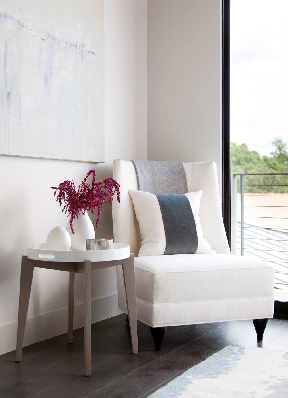 Horseshoe Bay Guest Bedroom | Robin Colton Interior Design Studio Austin Texas | www.robincolton.com