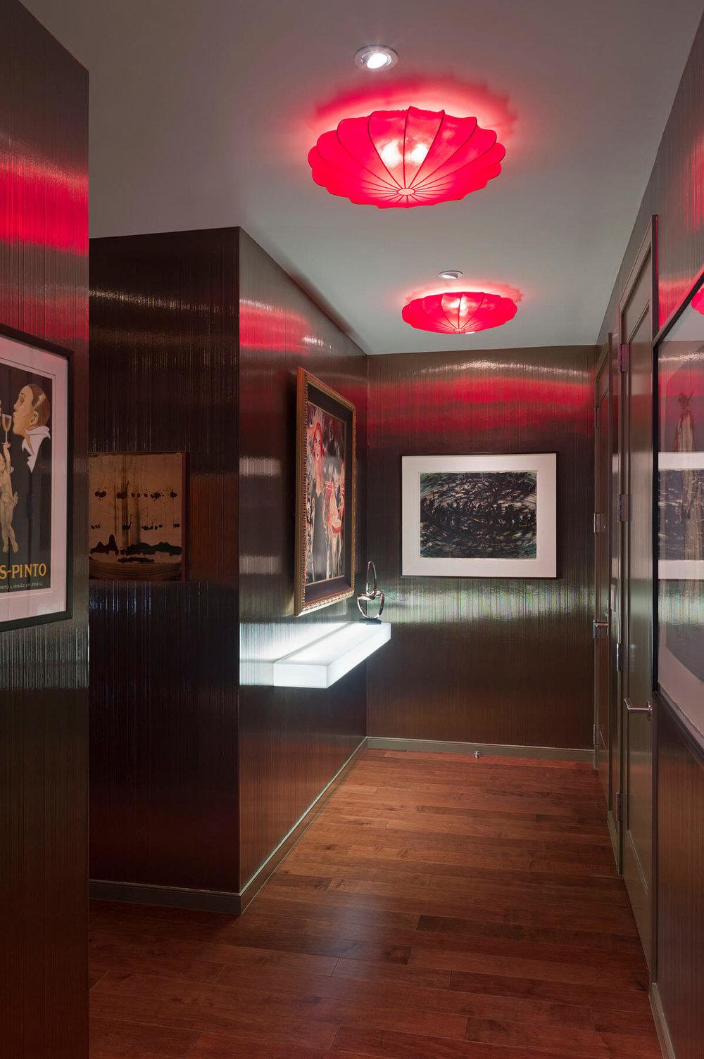 Robin Colton Interior Design Studio Austonian Foyer