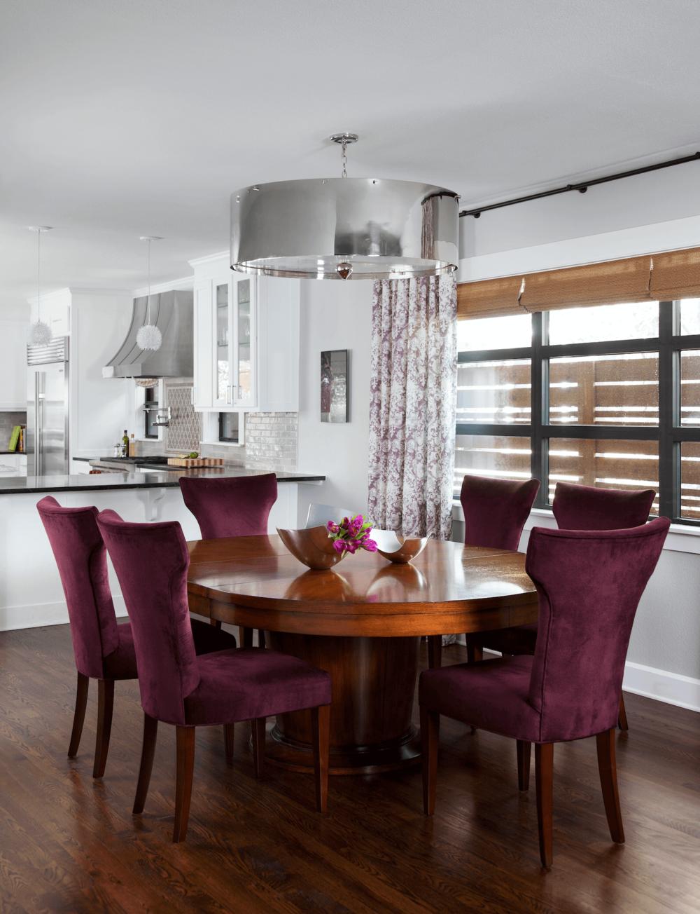 Tarrytown Dining Room | Robin Colton Interior Design Studio Austin Texas | www.robincolton.com