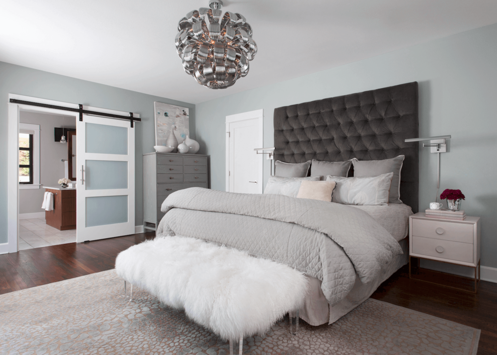 Robin Colton Interior Design Studio Austin Tarrytown Master Bedroom
