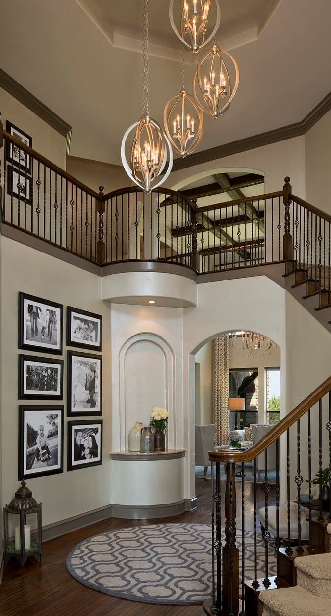 Robin Colton Interior Design Studio Austin Steiner Ranch Entry