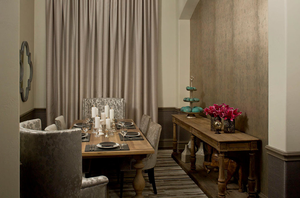 Robin Colton Interior Design Studio Austin Steiner Ranch Dining Room