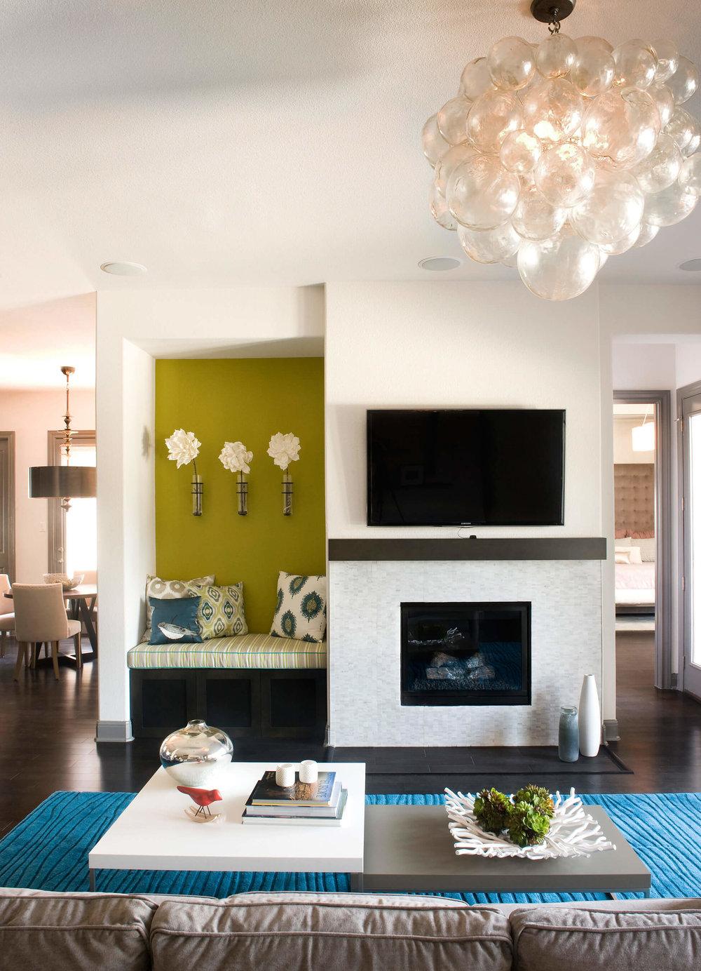 Robin Colton Interior Design Studio Austin Brodie Springs Living Room