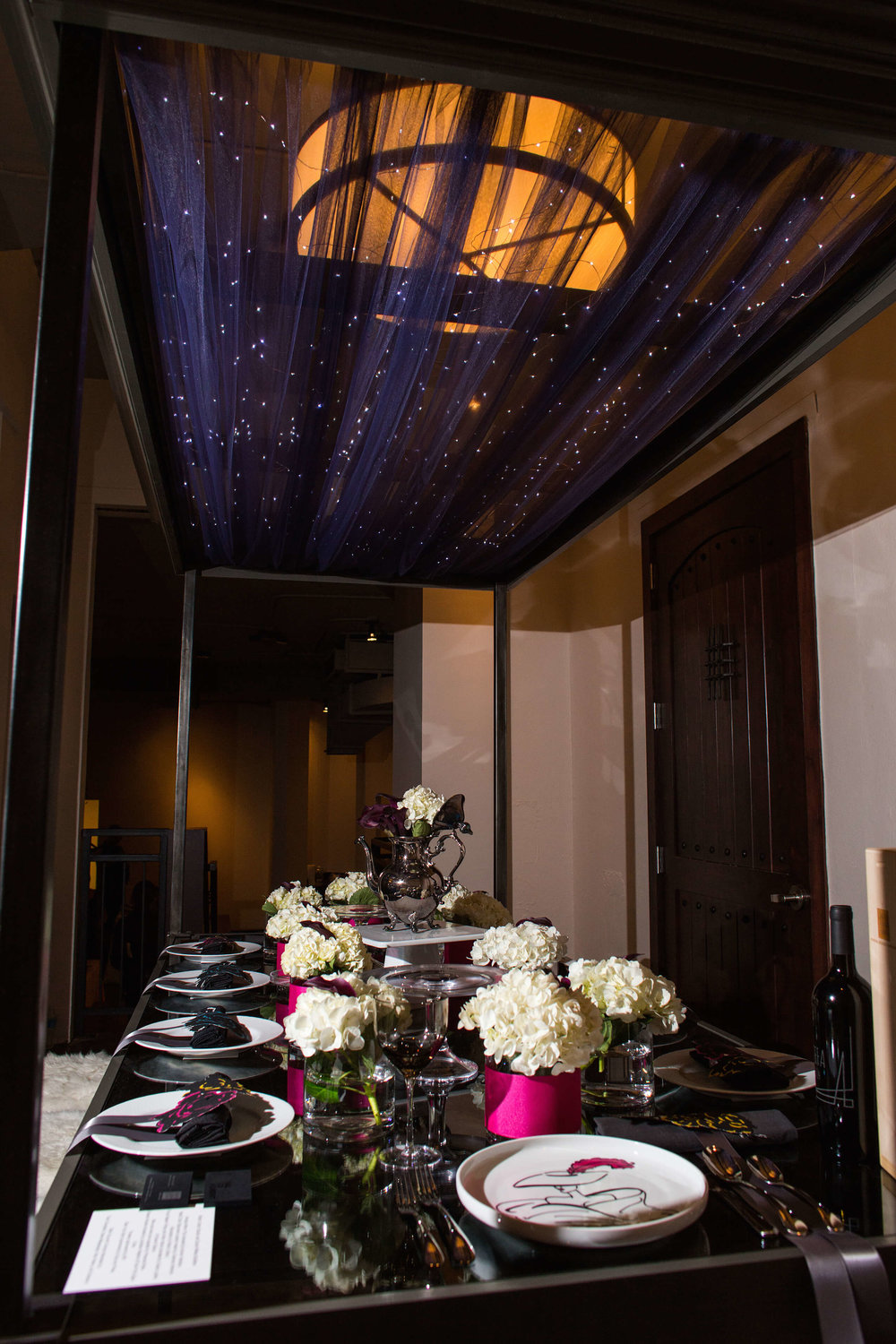 Robin Colton Interior Design Studio Austin DIFFA Tablescape