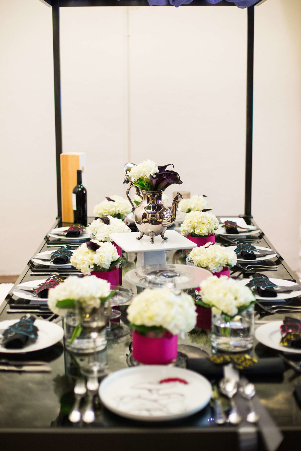Robin Colton Interior Design Studio Austin DIFFA Place Settings