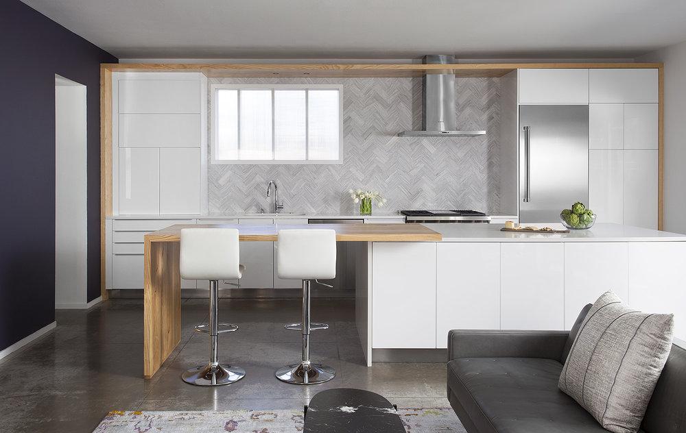 North Central Austin Condo Kitchen | Robin Colton Interior Design Studio Austin Texas | www.robincolton.com