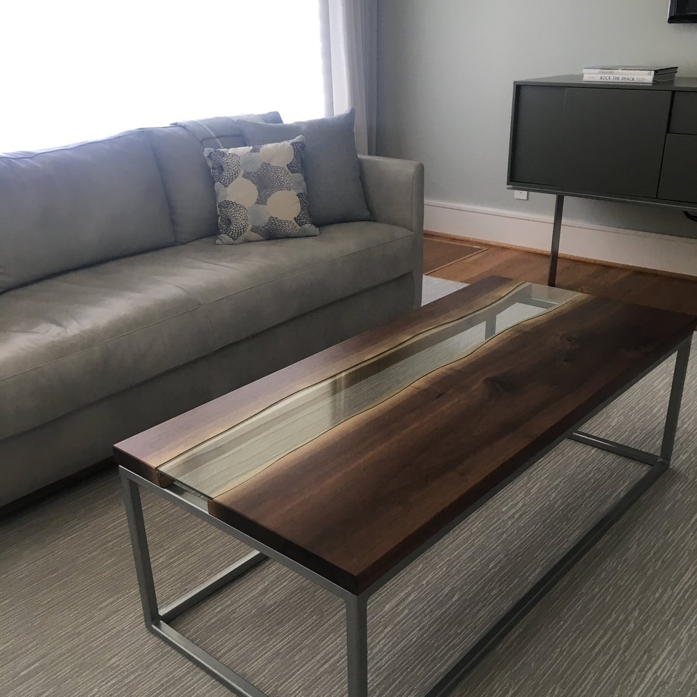 Remade in the USA Austin Living Room | Robin Colton Interior Design Studio Austin Texas Blog | www.robincolton.com