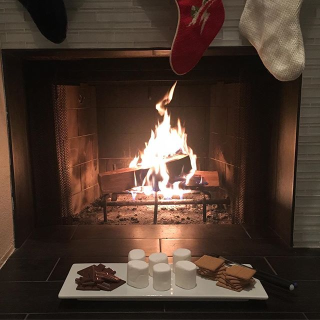 Cozy Saturday nite in. #lovemylife #bestlife #smores