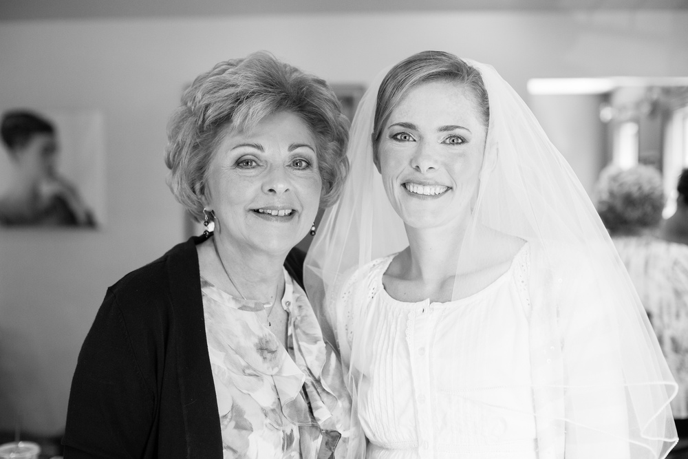 I normally don't include basic portraits like this in blog posts (we try to keep it fancy), but seeing a bride and her mom looking so happy demanded inclusion.