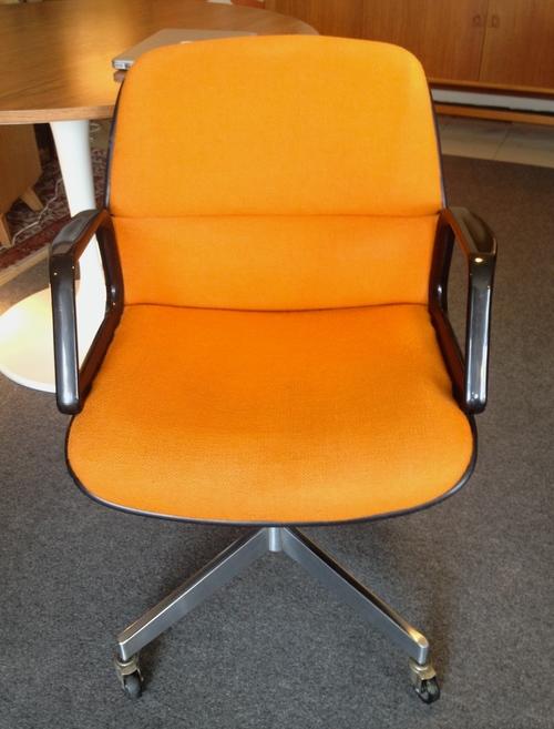 mid century steelcase office chair dunepad