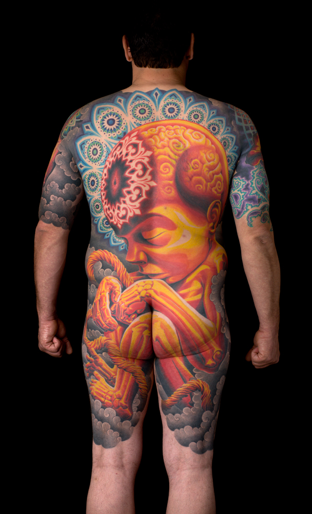 Tattoo by adrian Lee.  Photo Max Dolberg