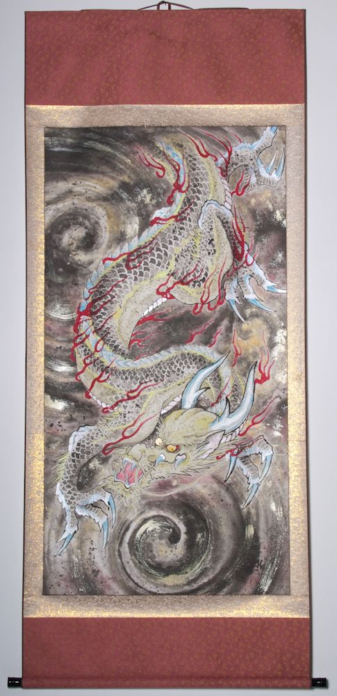 "Dragon & Wind 79""x37"" $3150.00"
