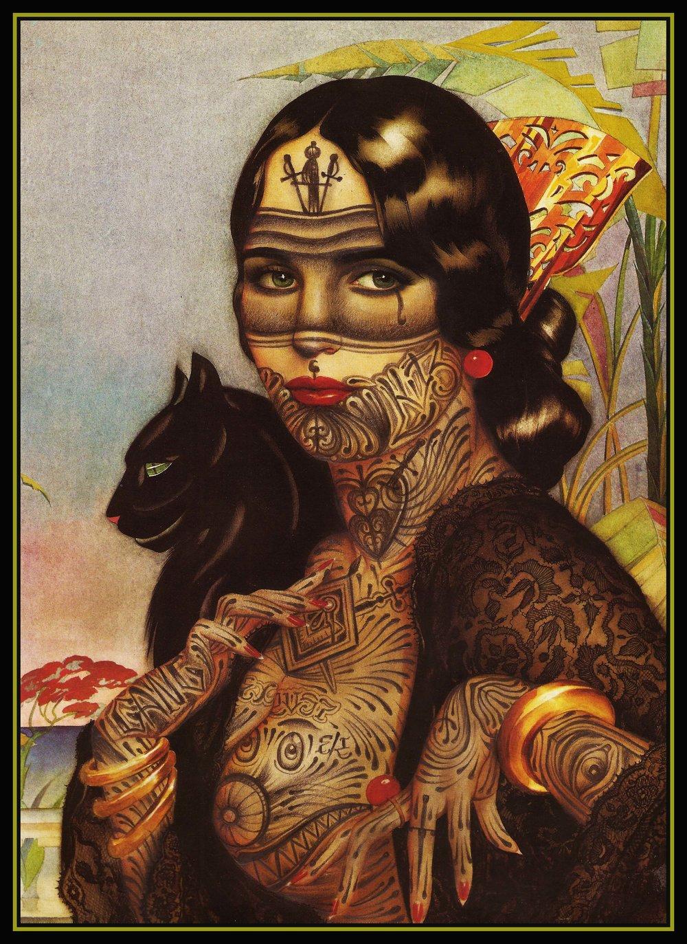 Feline queen print.jpg