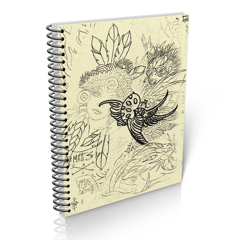 Thomas Hooper Book Of Lines Tattoo Sketchbook