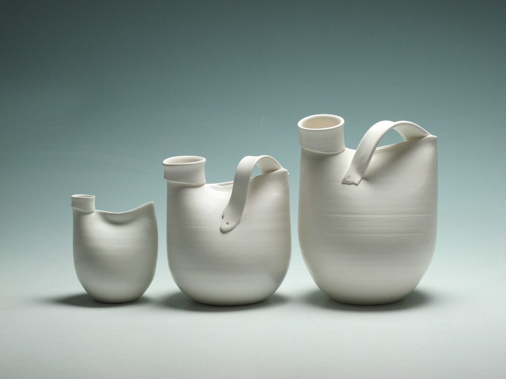 using porcelain to explore the patterns, rhythms and continuity of nature and the landscape