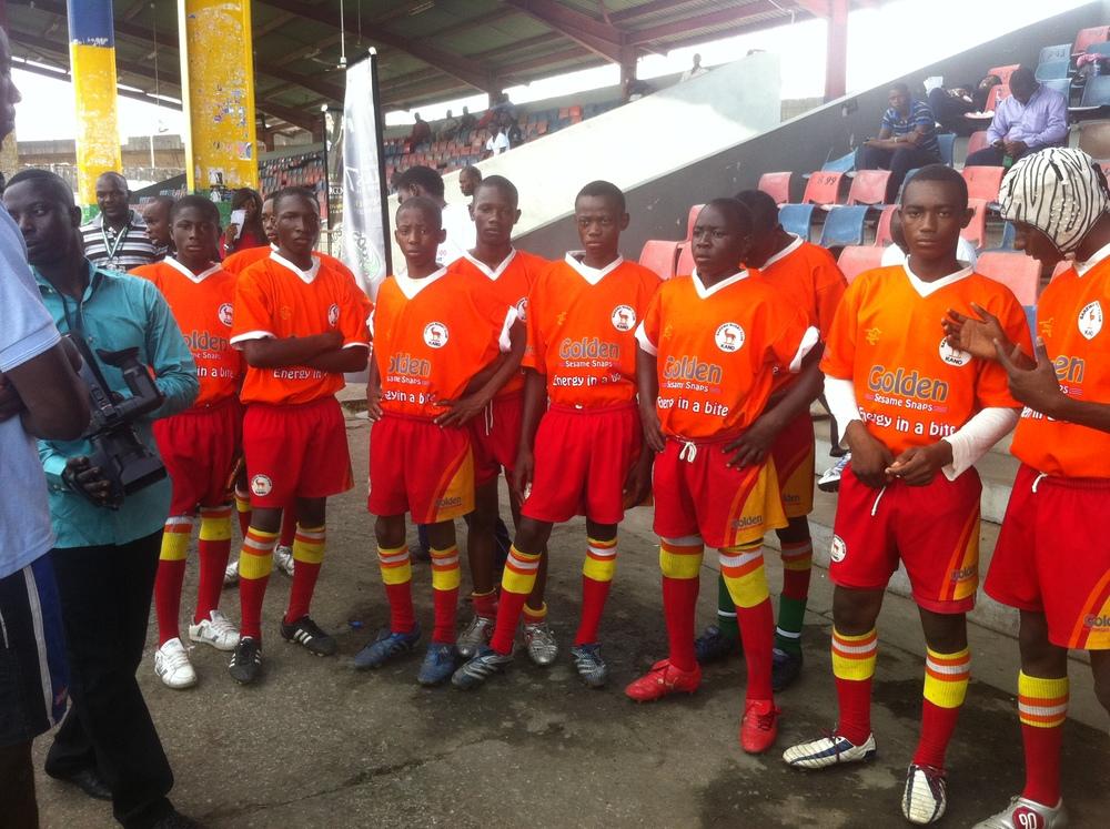 Barewa Juniors at Lagos 7s, November 2011