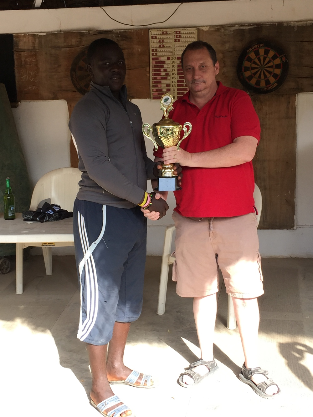 Player of the Year -   Hassan Mohammed