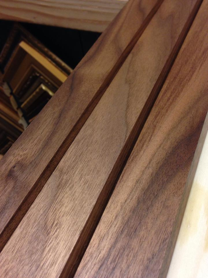 Hand finished mouldings: Walnut — JMH Woodworking llc