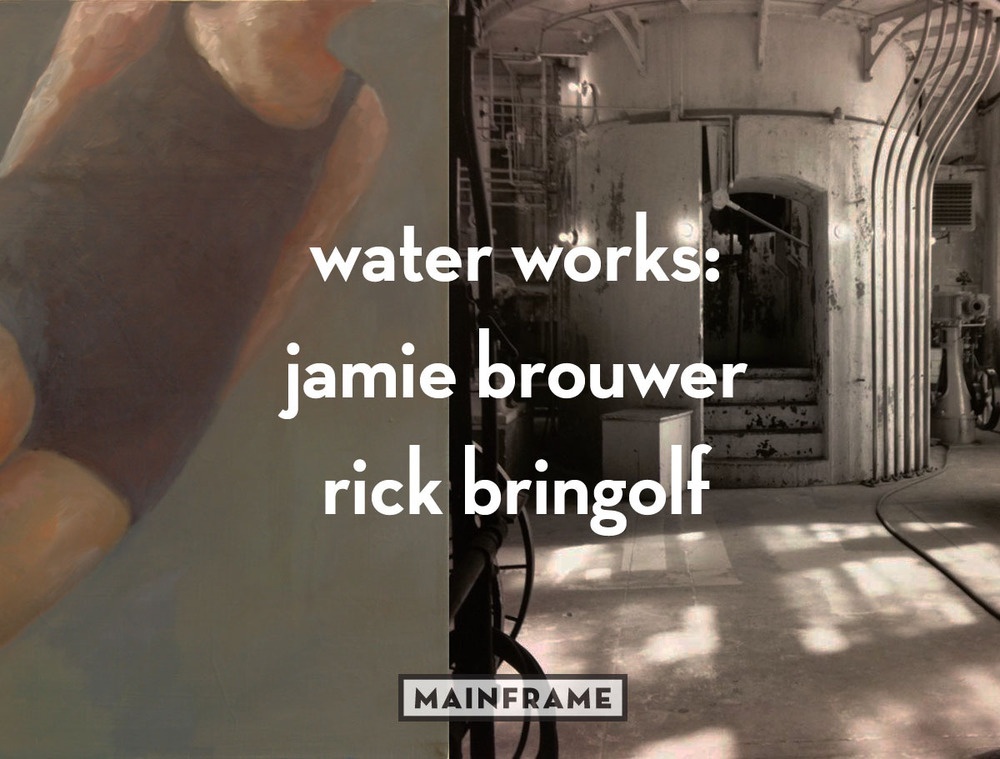 water works: Jamie Brouwer and Rick Bringolf