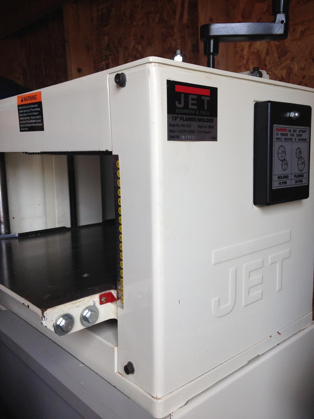 Jet JPM13 Planer Molder