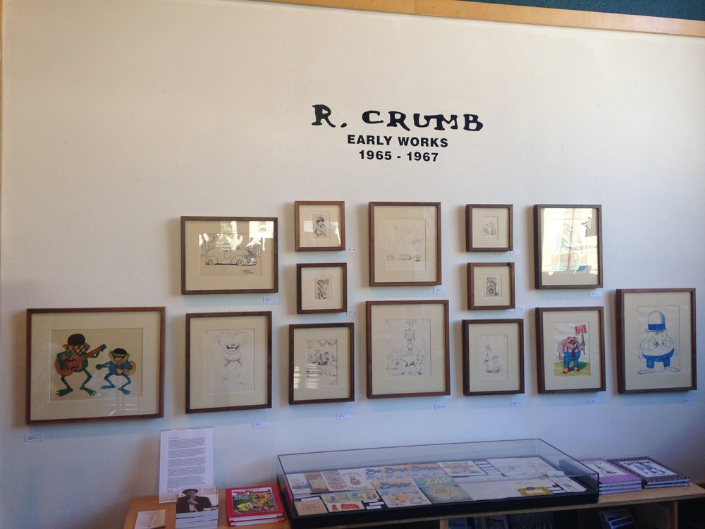r. crumb at fantagraphics