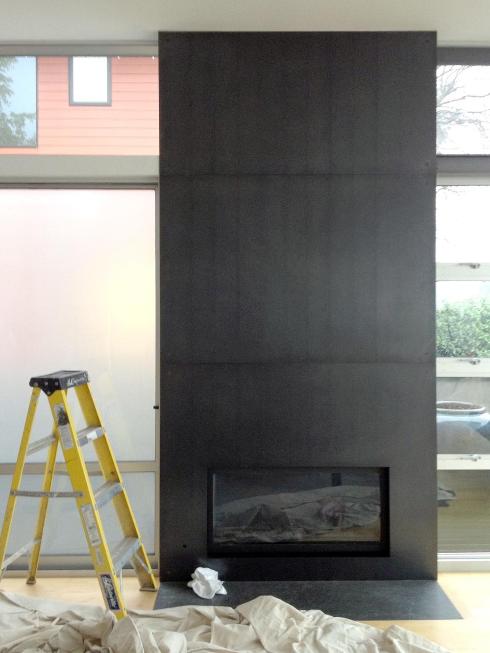 Osias Fireplace Mcnae Design